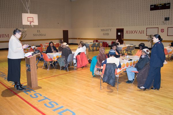 The Salvation Army Newark Westside Corps Grandparents Thanksgiving